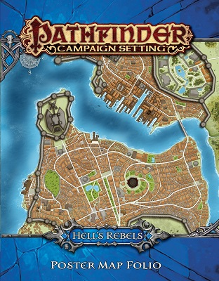 Pathfinder: Campaign Setting: Hells Rebels: Poster Map Folio
