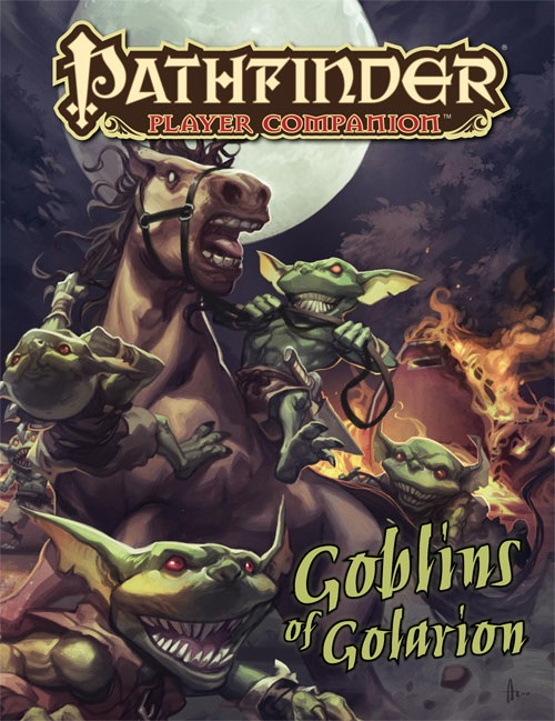 Pathfinder: Player Companion: Goblins of Golarion - Used