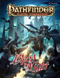 Pathfinder: Player Companion: Blood of the Night - Used