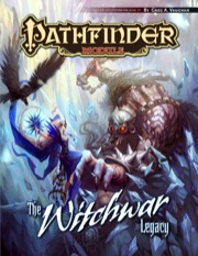 Pathfinder Module: The Witchwar Legacy - Used
