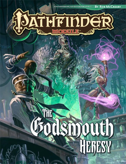 Pathfinder Module: The Godsmouth Heresy - Used