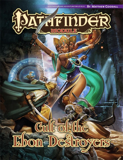 Pathfinder: Module: Cult of the Ebon Destroyers
