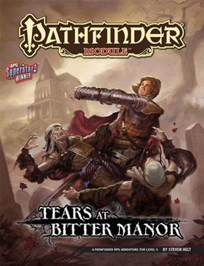 Pathfinder: Module: Tears at Bitter Manor - Used