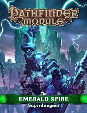 Pathfinder: Module: the Emerald Spire Superdungeon (HC)