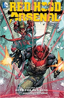 Red Hood Arsenal: Volume 1: Open For Business TP