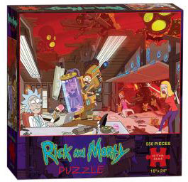 Puzzle: Rick and Morty V2
