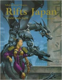 Rifts RPG World Book Eight: Japan - Used