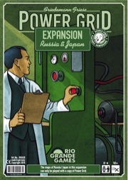Power Grid: Expansion: Russia and Japan