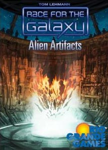Race for the Galaxy: Alien Artifacts Expansion - USED - By Seller No: 20 GOB Retail
