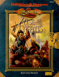 Dungeons and Dragons 2nd ed: DragonLance: Rise of the Titans - USED