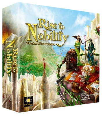 Rise to Nobility Board Game