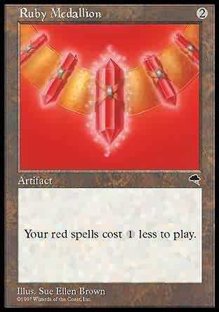 Ruby Medallion (Tempest)