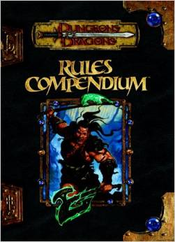 Dungeons and Dragons 3rd ed: Rules Compendium -- Used