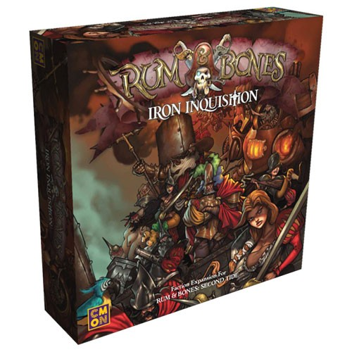 Rum and Bones: Second Tide: Iron Inquisition Expansion
