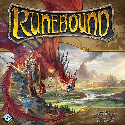 Runebound Board Game (3rd Edition) - USED - By Seller No: 8123 Nik Spiro