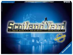 Scotland Yard Board Game - USED - By Seller No: 17461 Jeremy Shankle