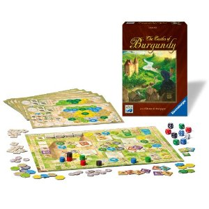 The Castles of Burgundy Board Game