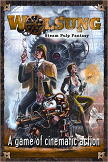 Wolsung: Steam Pulp Fantasy Role Playing - USED