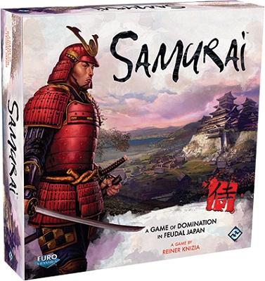 Samurai Board Game (Fantasy Flight) - USED - By Seller No: 18256 Karen Fischer