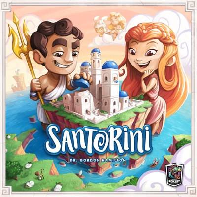 Santorini Board Game - USED - By Seller No: 12677 Kathryn R Robertson