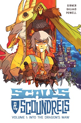 Scales and Scoundrels: Volume 1: Into the Dragons Maw TP