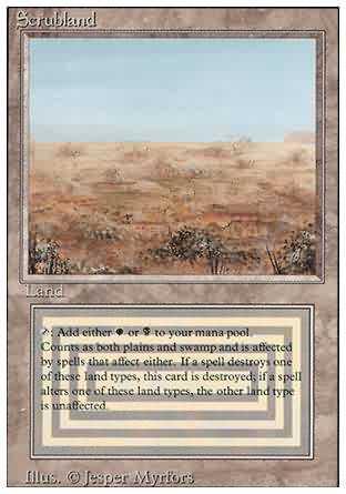 Scrubland - Revised