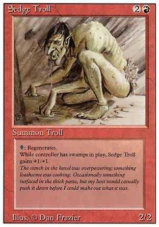 Sedge Troll - Revised