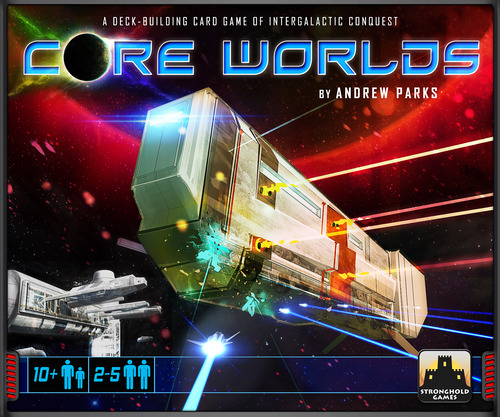 Core Worlds Deck Building Game - USED - By Seller No: 3226 Ben Rubinstein