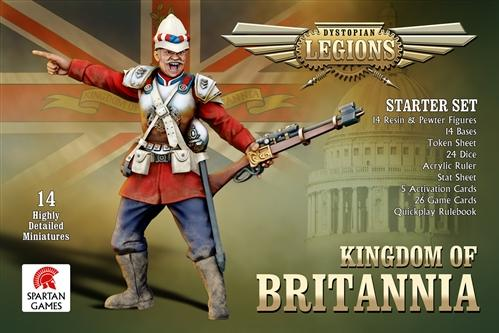 Dystopian Legions: Kingdom of Britannia: Starter Set