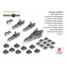 Dystopian Wars: Russian Coalition: Naval Battle Group: DWRC01