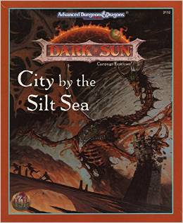 Dungeons and Dragons 2nd ed: Dark Sun: City by the Silt Sea Box Set - Used