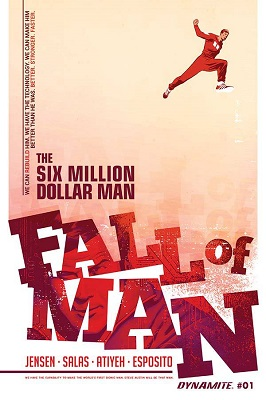 Six Million Dollar Man: Fall of Man (2016) Complete Bundle - Used