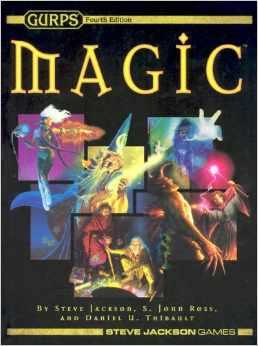Gurps 4th Ed: Magic Hard Cover - Used