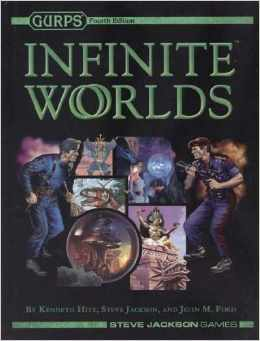 Gurps 4th ed: Infinite Worlds Hard Cover - Used