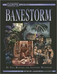 Gurps 4th Ed: Banestorm HC - Used
