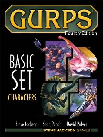 Gurps 4th ed: Basic Set Characters Hard Cover - Used
