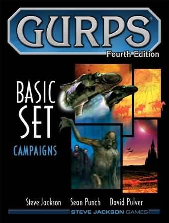 Gurps 4th ed: Basic Set Campaigns - Used