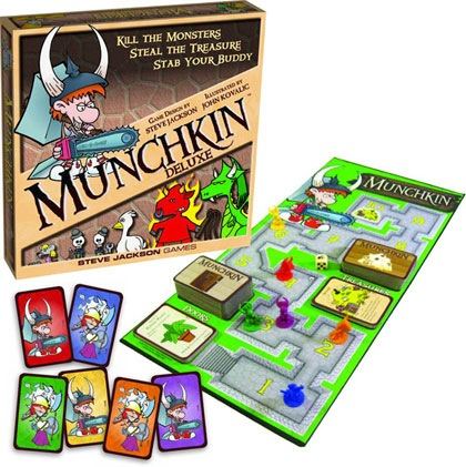 Munchkin Deluxe - USED - By Seller No: 5882 Brett Fragel
