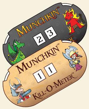 Munchkin Apocalypse: Kill-O-Meter