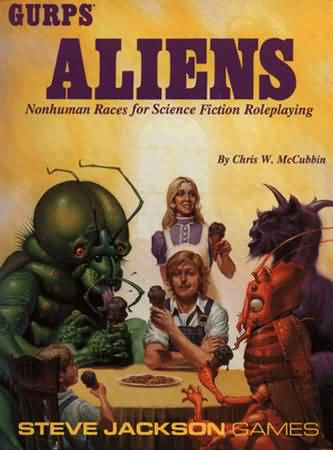 Gurps 3rd: Aliens: Nonhuman Races for Science Fiction Roleplaying