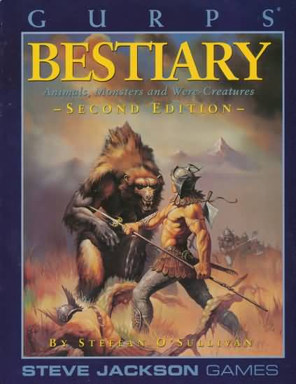 Gurps 3rd: Bestiary 3rd Edition