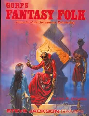 Gurps 3rd: Fantasy Folk 2nd ed - Used