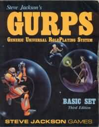 Gurps 3rd ed: Basic Set Revised Soft Cover - Used