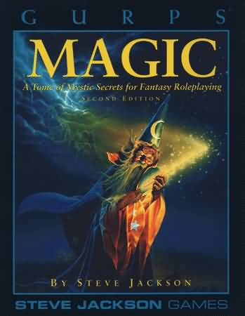 Gurps 3rd Ed: Magic 2nd ed - Used