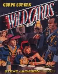 Gurps 3rd: Wild Cards - USED