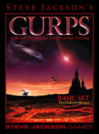Gurps 3rd ed: Basic Set Revised Hard Cover - Used