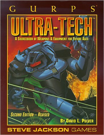 Gurps 3rd: Ultra-Tech : A Sourcebook of Weapons and Equipment for Future Ages - Used
