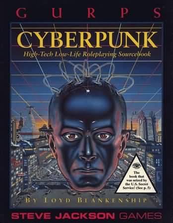 Gurps 3rd Ed: Cyberpunk - Used