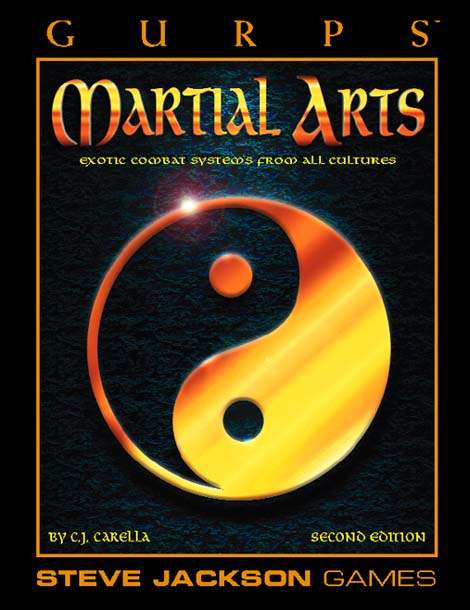 Gurps 2nd ed: Martial Arts - Used