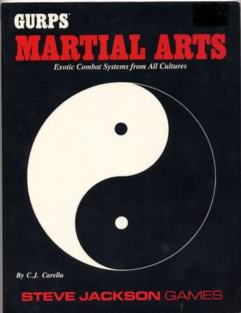 Gurps 3rd Ed: Martial Arts - Used